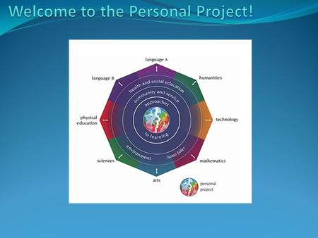 What is the Personal Project? It's a project that all students do in the 9 th and 10 th grade. Students get to choose exactly what they want to do. Students.