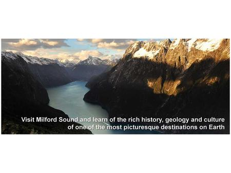 Milford Sounds Key surface features: High mountain ranges (1 st ) U-shaped valleys (2 nd ) Internal processes: Convection currents move the plates Both.