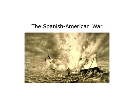 The Spanish-American War. Terms and People José Martí – Cuban patriot who launched a war for independence from Spain in 1895 William Randolph Hearst –
