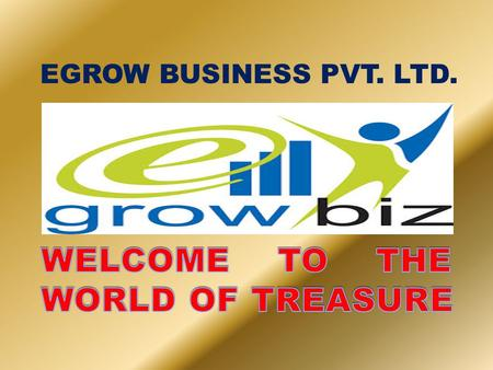 EGROW BUSINESS PVT. LTD. CERTIFICATE OF INCORPORATION.