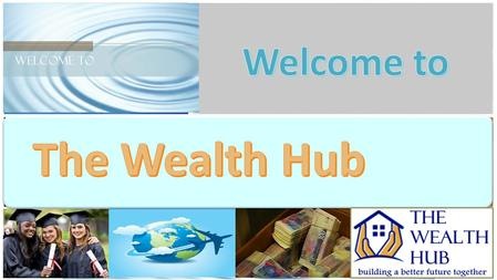 The Wealth Hub Company DIRECTORS The Wealth Hub Company DIRECTORS Dr Lizette Kleynhans Dr Ngoato Takalo Luke Ngwenya Stefan Minnaar AdminFinanceTravelAdminFinanceTravel.