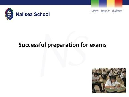 Successful preparation for exams. Research based advice to help reduce stress, promote motivation and preparation.