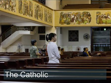 "The Catholic. ""I pray because Mary answers my prayers,"" says Binh as we speak to her at one of the many Catholic churches in the city. ""I pray for the."