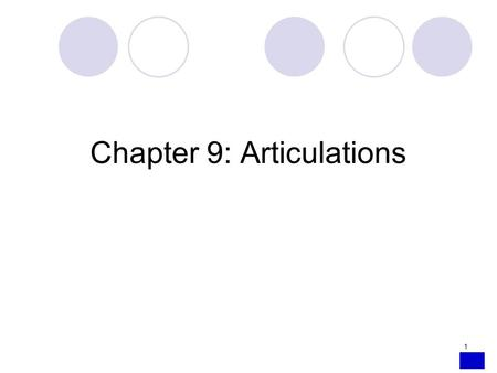 1 Chapter 9: Articulations. 2 INTRODUCTION Articulation: point of contact between bones Joints are mostly movable, but some are immovable or allow only.