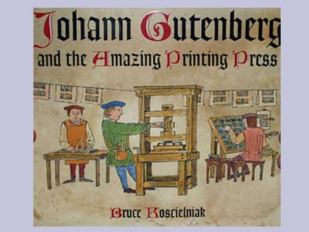 Biography Gutenberg was born in the German city of Mainz, the youngest son of the upper-class merchant Friele Gensfleisch zur Laden, and his second wife.