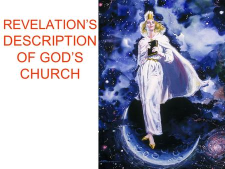 REVELATION'S DESCRIPTION OF GOD'S CHURCH