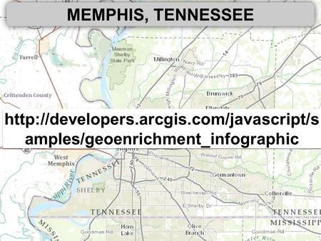 MEMPHIS, TENNESSEE  amples/geoenrichment_infographic.