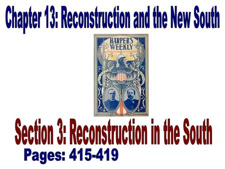 African American Activism (415) With the passage of the Reconstruction Acts by Congress, African Americans saw a new era beginning. The rise of Congressional.