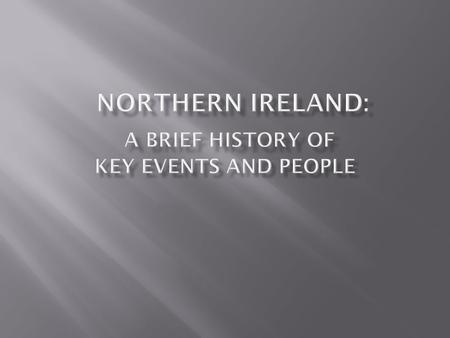 a brief history of the conflict between catholics and protestants in ireland and the issue of ira Timeline of the northern ireland troubles and peace process a split formed in the irish republican army where large numbers of protestants and catholics.