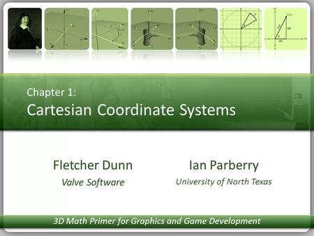 Chapter 1: Cartesian Coordinate Systems