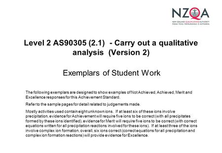 nzqa essay exemplars level 1 Drama - annotated exemplars level 1 as90997 » nzqa for excellence, the student needs to devise and perform an effective drama this means the devised drama is.
