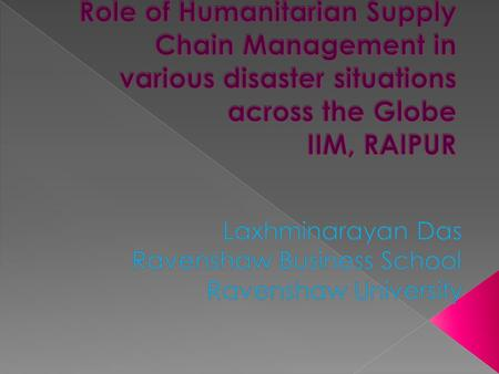  It is the joint collaboration of manpower and experts from several disciplines of public institutions to address the outbreak any kind of natural calamity.