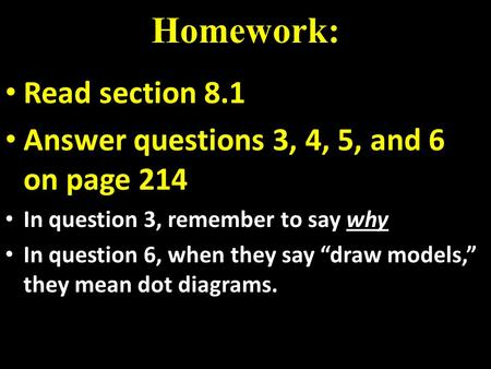 chem 11 section assignment 3 1 View notes - chapter 3 reading assignment from chm 113 at asu chemistry  113 reading assignment chapter 3 #1 (section 31) chemical equations are.