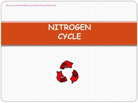 Http://www.animationlibrary.com/search/?keywords=recycle NITROGEN CYCLE.