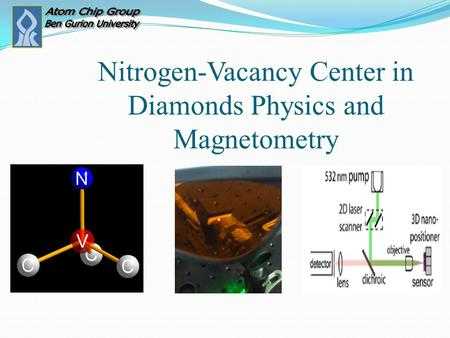 Nitrogen-Vacancy Center in Diamonds Physics and Magnetometry.