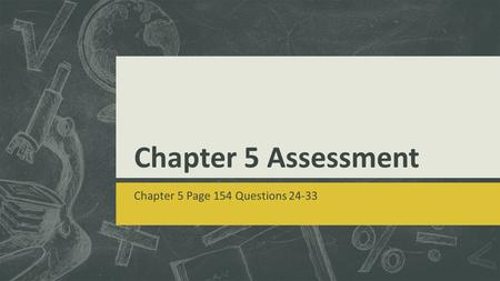 Chapter 5 Page 154 Questions 24-33