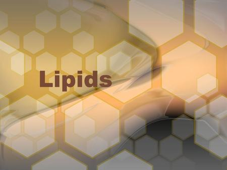 Lipids. Lipids (fixed oils, fats, and waxes) are esters of long-chain fatty acids and alcohols, or of closely related derivatives. The chief difference.