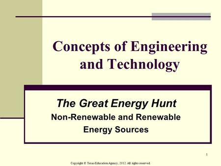 Concepts of Engineering and Technology