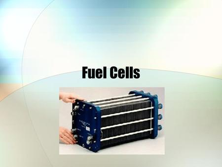 "Fuel Cells. The Promise of Fuel Cells ""A score of nonutility companies are well advanced toward developing a powerful chemical fuel cell, which could."