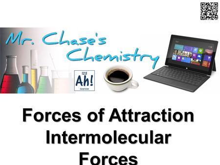 Forces of Attraction Intermolecular Forces