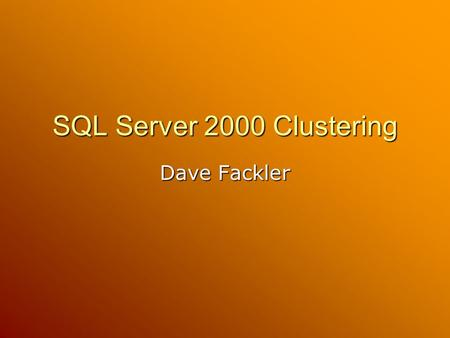 SQL Server log shipping offers path to SharePoint disaster