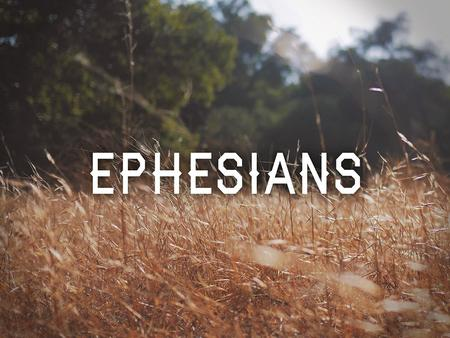 Ephesians 2:1-10 (ESV) 1 And you were dead in the trespasses and sins 2 in which you once walked,