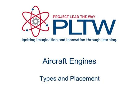 Aircraft Engines Types and Placement.