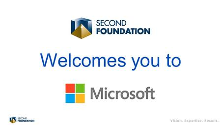 Welcomes you to. Executive Series June 19, 2013 Welcome David Popowich President & Founder, Second Foundation Consulting Inc.