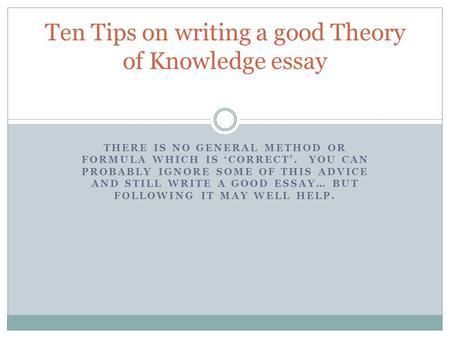 Theory of knowledge theoryofknowledge net Writeessay ml Edublogs
