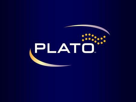 Title: PLATO Key Points: