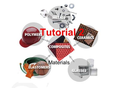 Tutorial 2 Materials. Question 1 In your own words, explain the difference between hardness and toughness. When a steel knife and a diamond is made to.