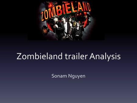 Zombieland trailer Analysis