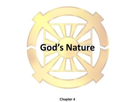 God's Nature Chapter 4. Why can't we See God? God is invisible. There are things we cannot see with our physical senses. Eyes: Only Visible Light (Not: