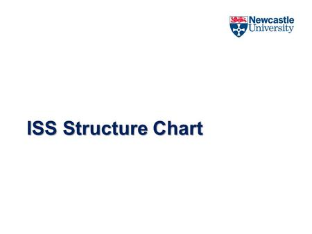 ISS Structure Chart. Final ISS Organisation Structure Director Steve Williams Assistant Director Governance Lawrence Thompson Assistant Director Service.