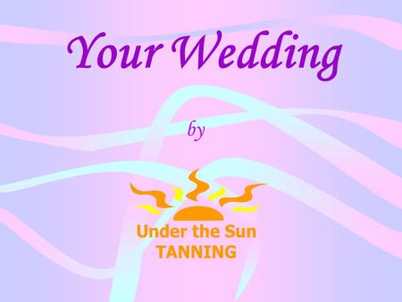 Your Wedding by. The flowers and cake have been ordered…