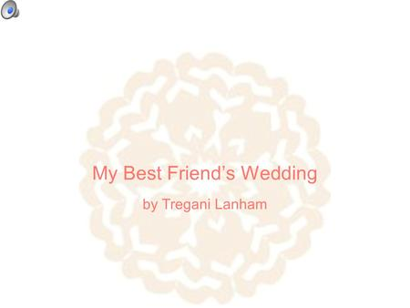 My Best Friend's Wedding by Tregani Lanham. Meet my best friend...the Bride beforeafter eye level portrait.