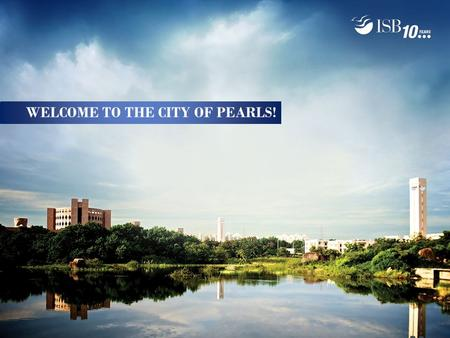 WELCOME TO THE CITY OF PEARLS!. Welcome to Hyderabad Hyderabad is the capital of Andhra Pradesh The city is conveniently located 2 hrs from New Delhi.