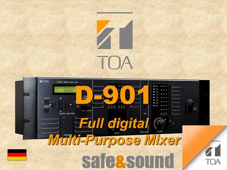 Bcbc D-901D-901 Full digital Multi-Purpose Mixer.