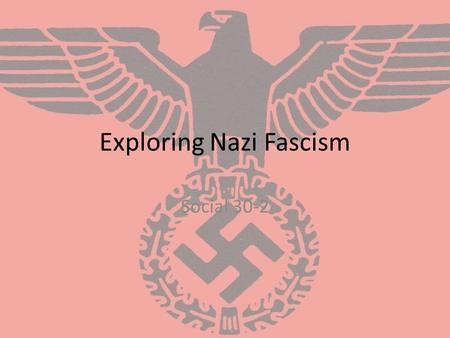 understanding the concepts of fascism and patriotism in europe after world war i and ii The nationalism and patriotism of european nations,  were significant factors in the road to world war i  europe's apathy about the dangers of war can be .