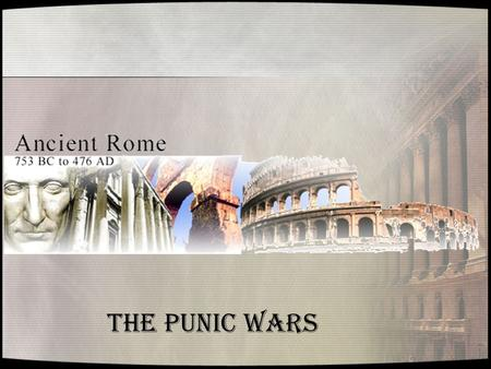 a review of the punic wars To review: from 264 to 146 bce, the romans fought a series of three wars with the rival state of carthage these wars are collectively called the punic wars the first punic war was over ownership of sicily it stretched for 24.