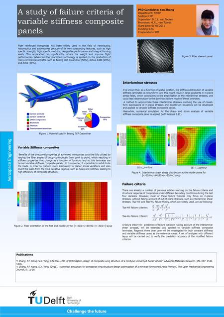 A study of failure criteria of variable stiffness composite panels Fiber reinforced composites has been widely used in the field of Aeronautics, Astronautics.