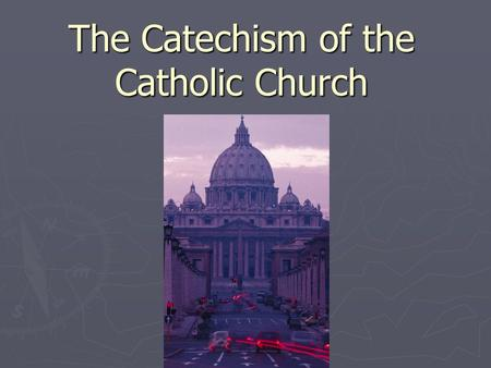 Fundamental problems with the catholic church