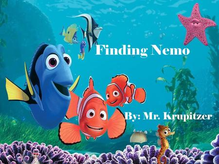 writing a good body paragraph examples from a character essay on  finding nemo by mr krupitzer cast allison janney as peach willem dafoe as
