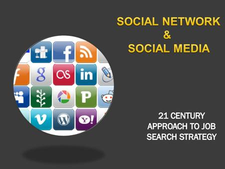  WHAT  WHY  IS SOCIAL NETWORK  IT IS NOT OPTIONAL IN 21 CENTURY.