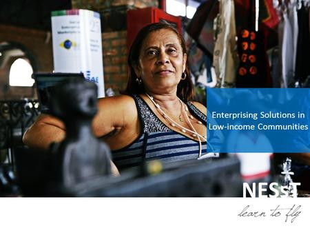 NESsT Enterprising Solutions in Low-income Communities.