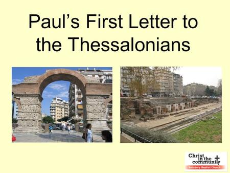 Paul's First Letter to the Thessalonians. Paul went into the synagogue, and on three Sabbath days he reasoned with them from the Scriptures, explaining.