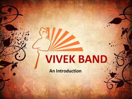 VIVEK BAND An Introduction. What is this all about? VIVEK BAND, is a campaign to spread the legacy of Swamy Vivekananda by wearing a wrist band with the.