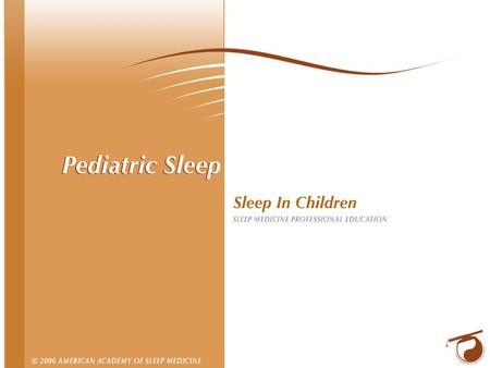2 Sleep in the Pre-teen Years Pre-school (3 to 5 years) Sleep needs: 11 to 12 hours Naps: Decrease from one a day to none Clinical Issues: Sleep onset.