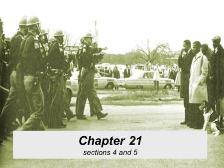 Chapter 21 sections 4 and 5. MLK Fourth generation Minister Rose to prominence during the Montgomery Bus Boycott The most important Civil Rights Movement.