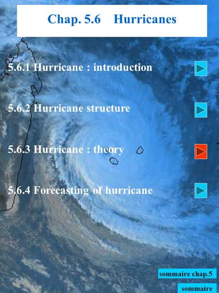 5.6.1 Hurricane : introduction